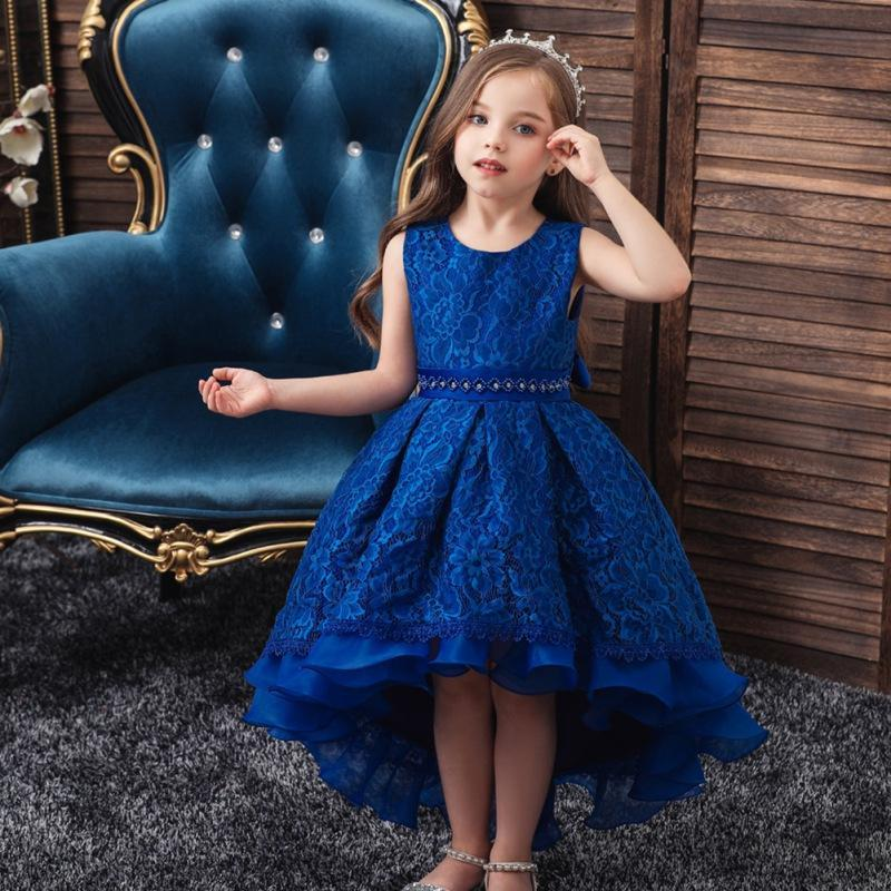 "Baby & Kids Apparel The ""Martina"" Elegant High-Low Dress -The Palm Beach Baby"