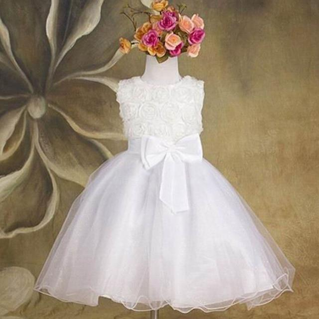 "Baby & Kids Apparel White / 4T / United States ""Taylor"" Elegant Tulle Occasion Dress -The Palm Beach Baby"
