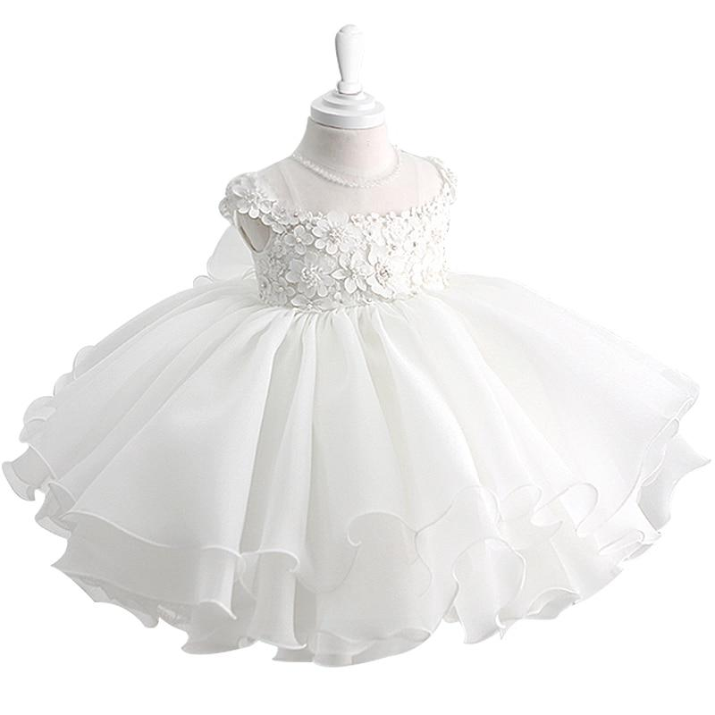 """Suzette"" Beaded Occasion Dress With Big Back Bow - The Palm Beach Baby"