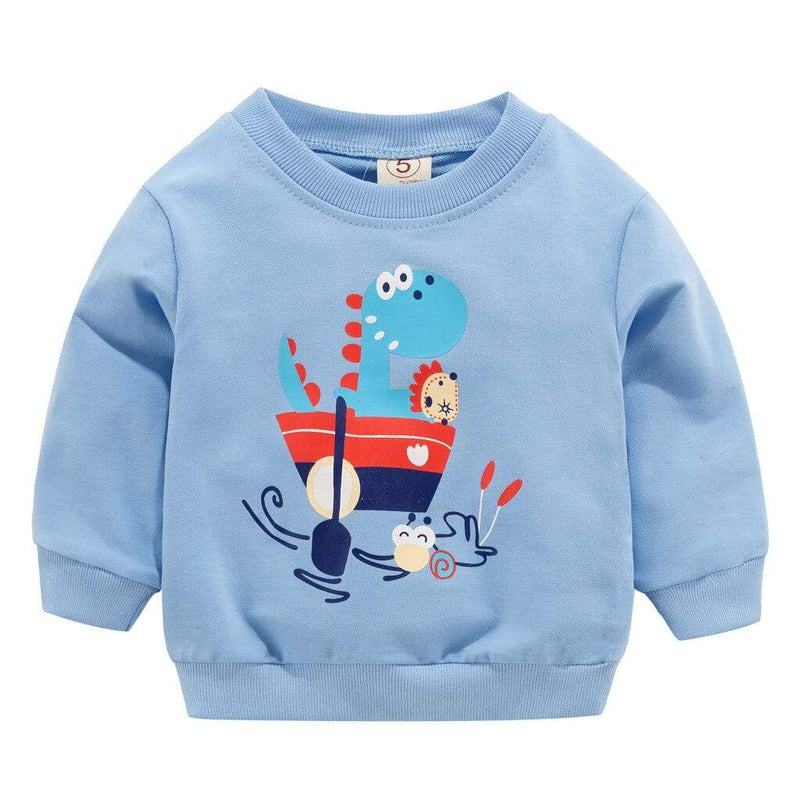 Fun Animal Print Baby/Toddler Sweatshirt - The Palm Beach Baby