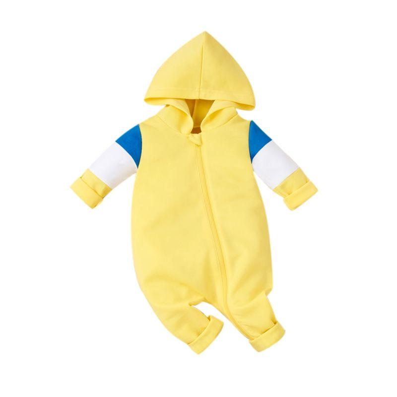 """Cameron"" Babies Hoodie Jumpsuit - The Palm Beach Baby"