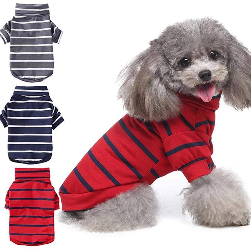 Pooshie's Dapper Striped Turtleneck - The Palm Beach Baby