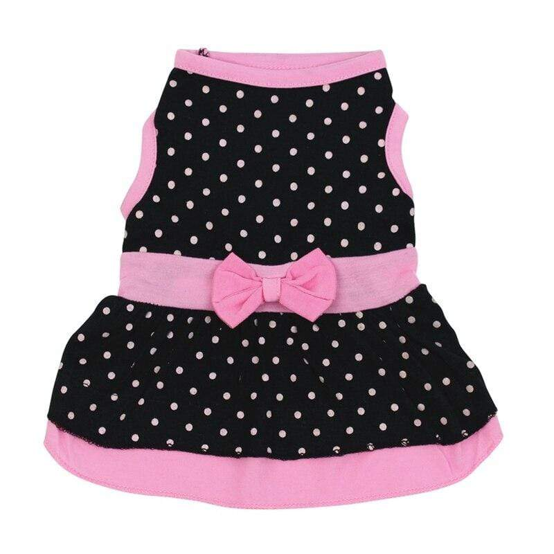 Dog's Cute Polka Dot Dress - The Palm Beach Baby
