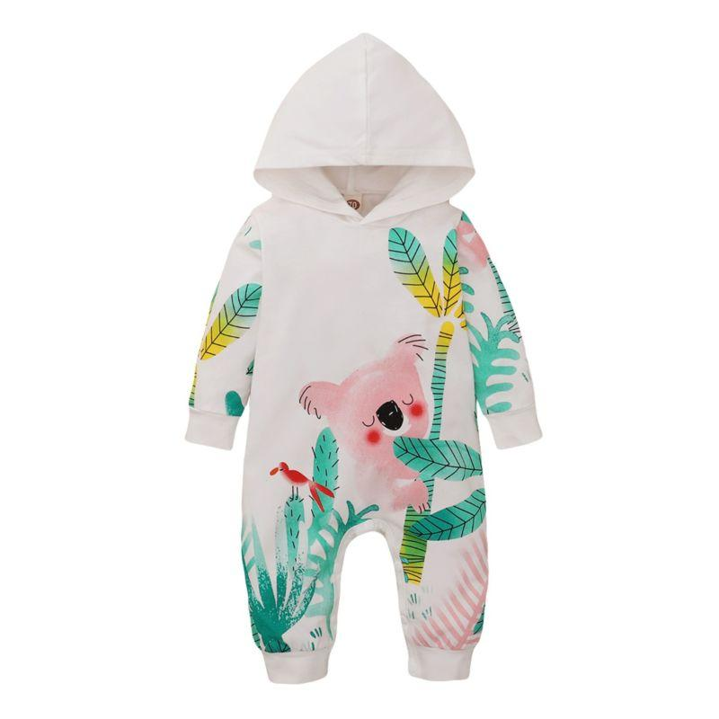 """Koala Baby"" Infants Hooded Jumpsuit - The Palm Beach Baby"