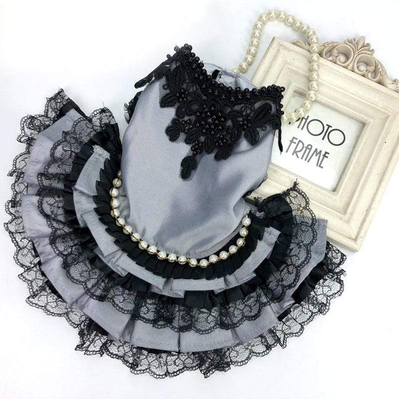 Lace Princess Dress Or Tuxedo For Dogs -The Palm Beach Baby