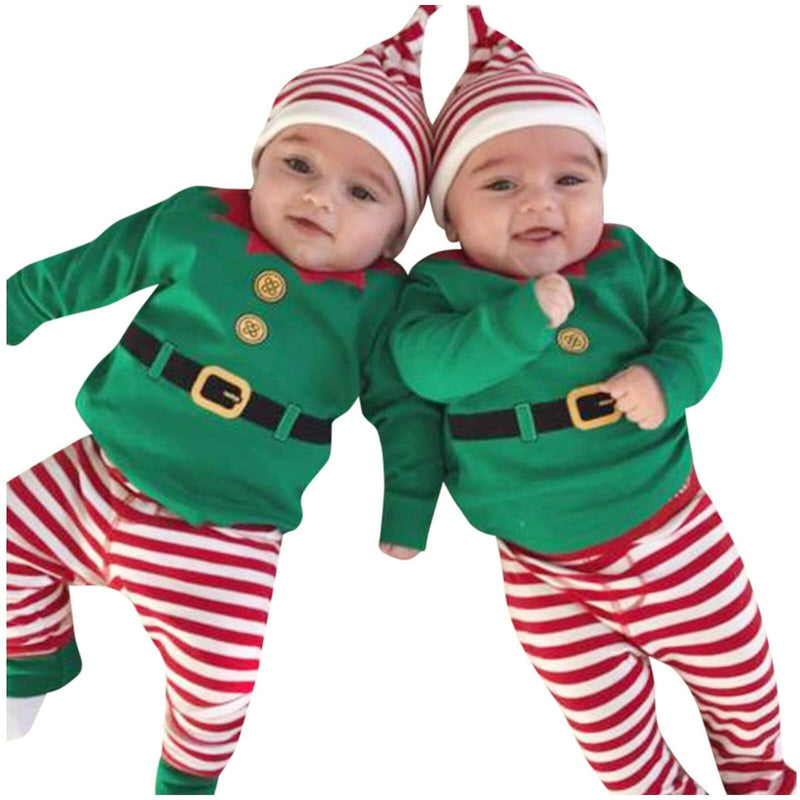 """Little Elf"" Babies 3 PC Set - The Palm Beach Baby"