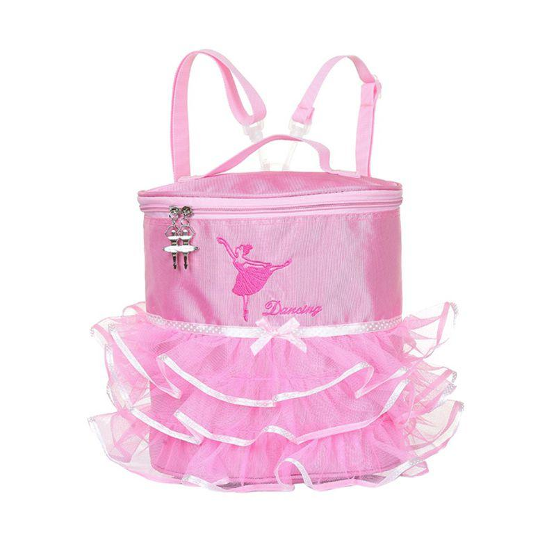 Little Girl's Ballet Gymnastics Backpack/Purse - The Palm Beach Baby