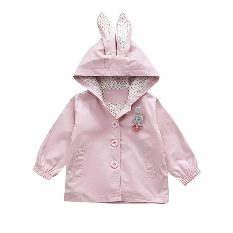 NEW Bunny Hooded Coat - The Palm Beach Baby