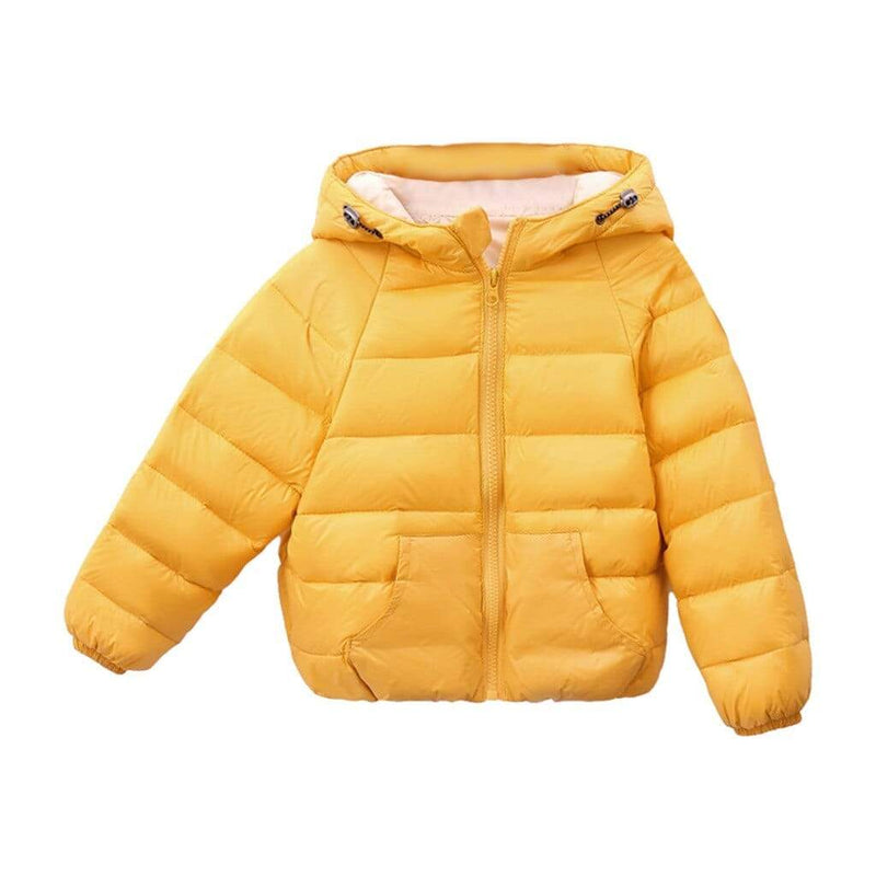 Kids Warm Quilted Jacket - The Palm Beach Baby