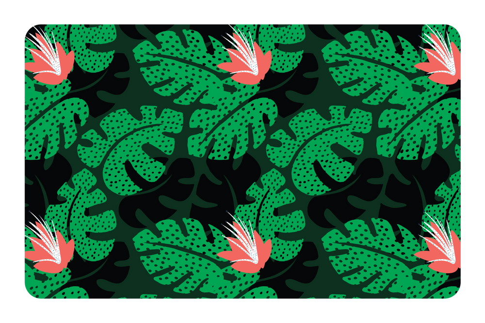 Toucan Jungle Pattern
