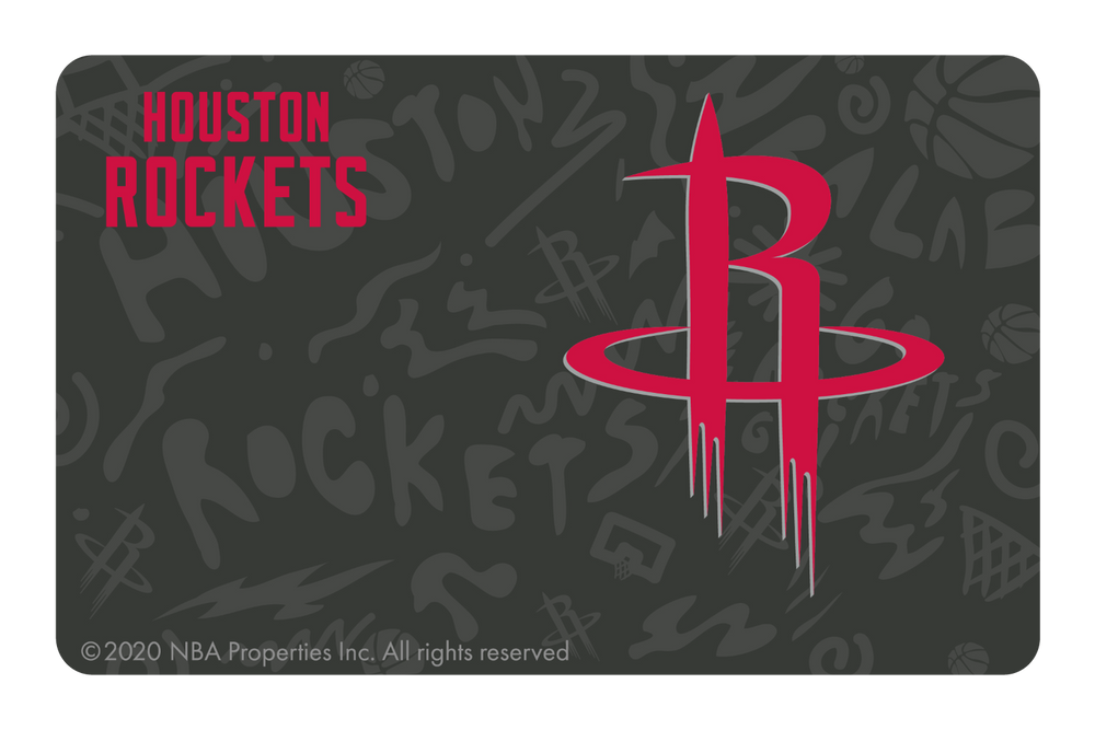 Houston Rockets: Team Mural