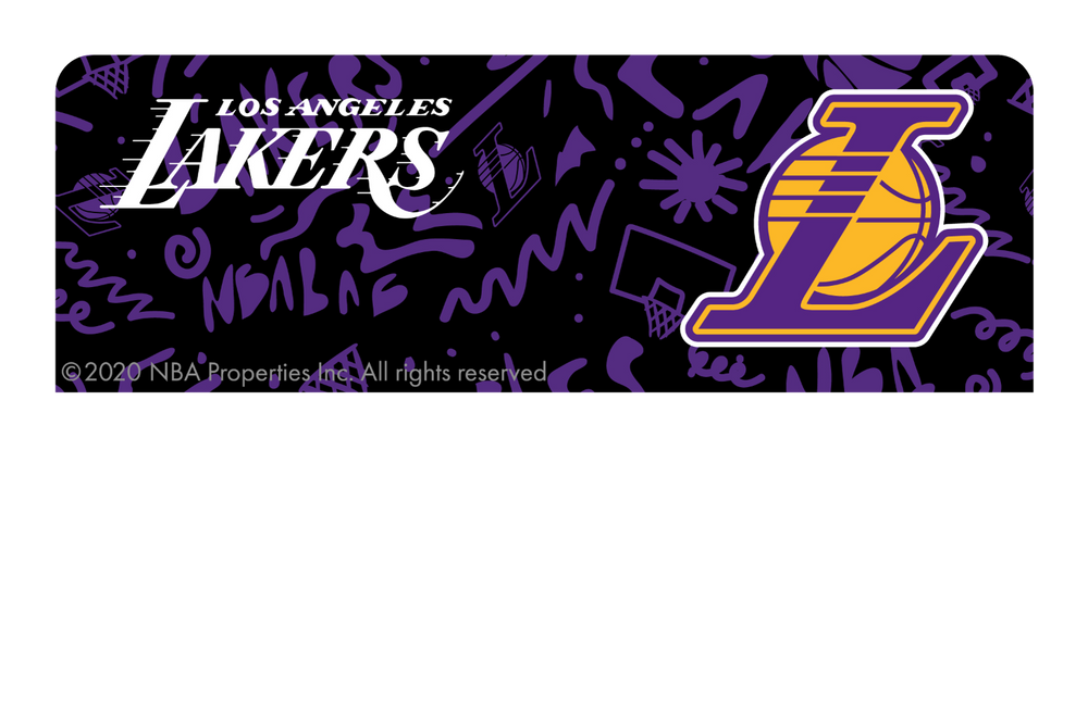 Los Angeles Lakers: Team Mural