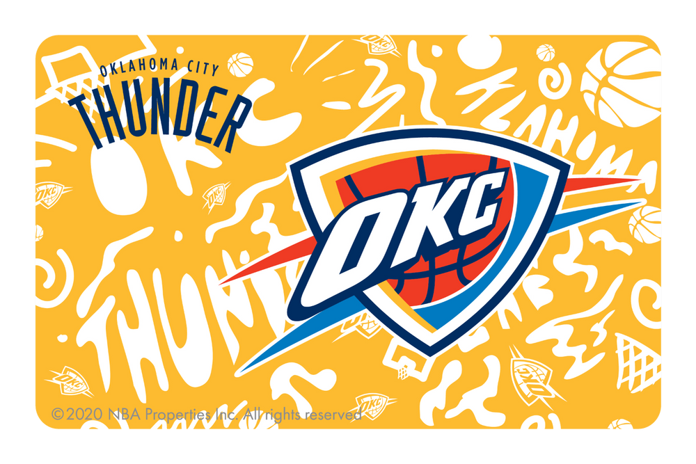 Oklahoma City Thunder: Team Mural