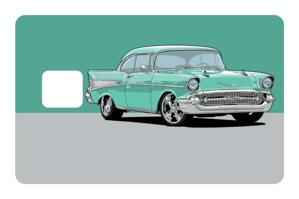 57 Chevy Credit Card Skins