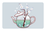 Blooming Teapot