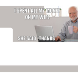 She said Thanks