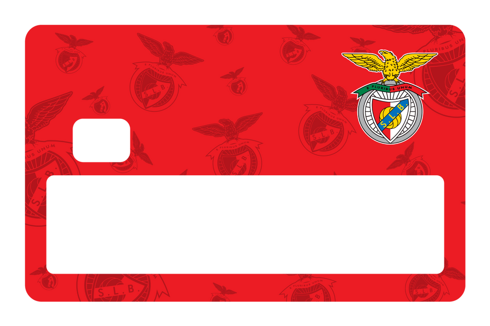 SL Benfica Red Pattern