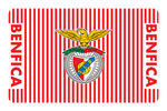 SL Benfica Stripes White