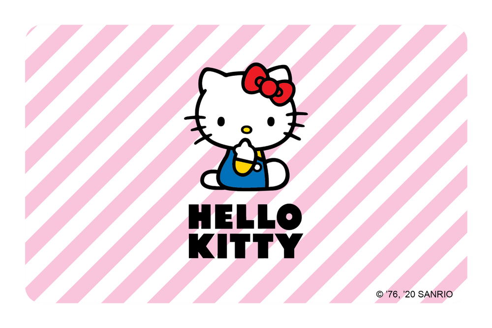 Hello Kitty Pink Stripes