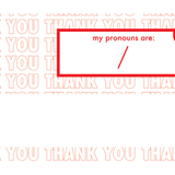 Your Pronouns Are