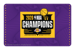 2020 NBA Champions: Los Angeles Lakers (P)