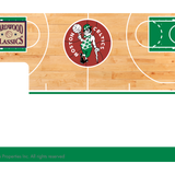 Boston Celtics: Retro Courtside Hardwood Classics