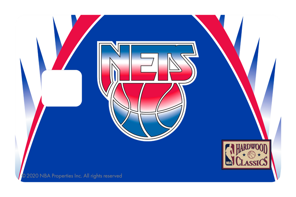 Brooklyn Nets: Away Warmups Hardwood Classics