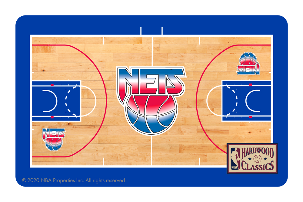 Brooklyn Nets: Retro Courtside Hardwood Classics