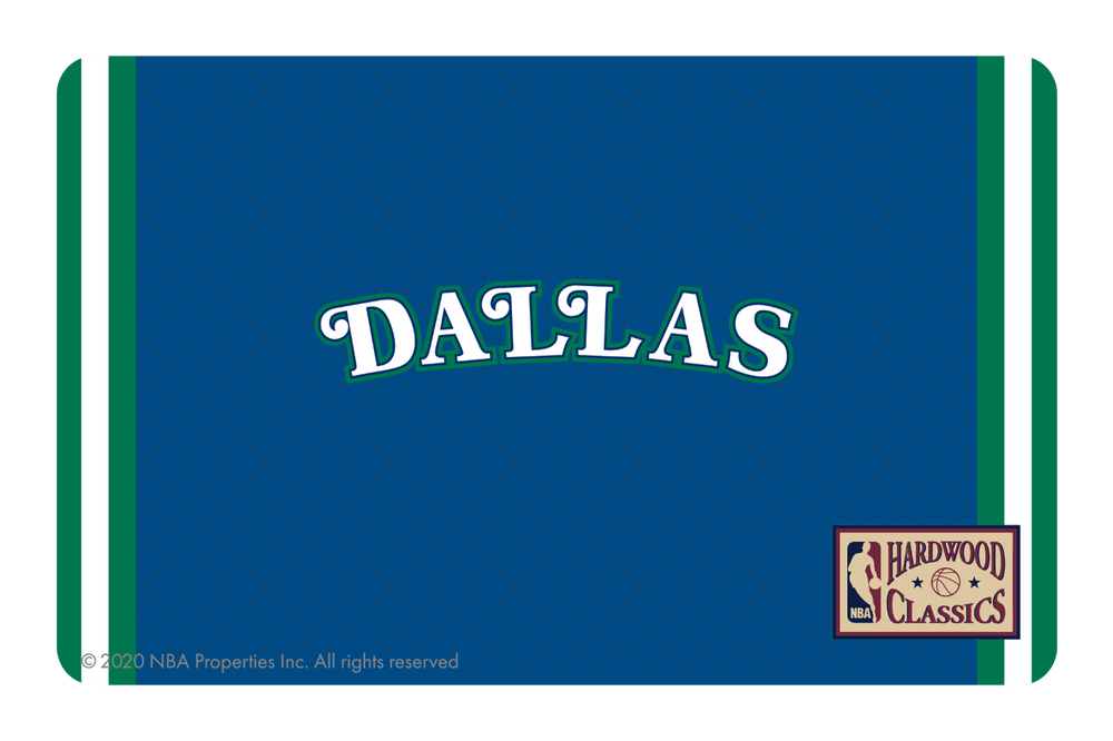 Dallas Mavericks: Away Hardwood Classics