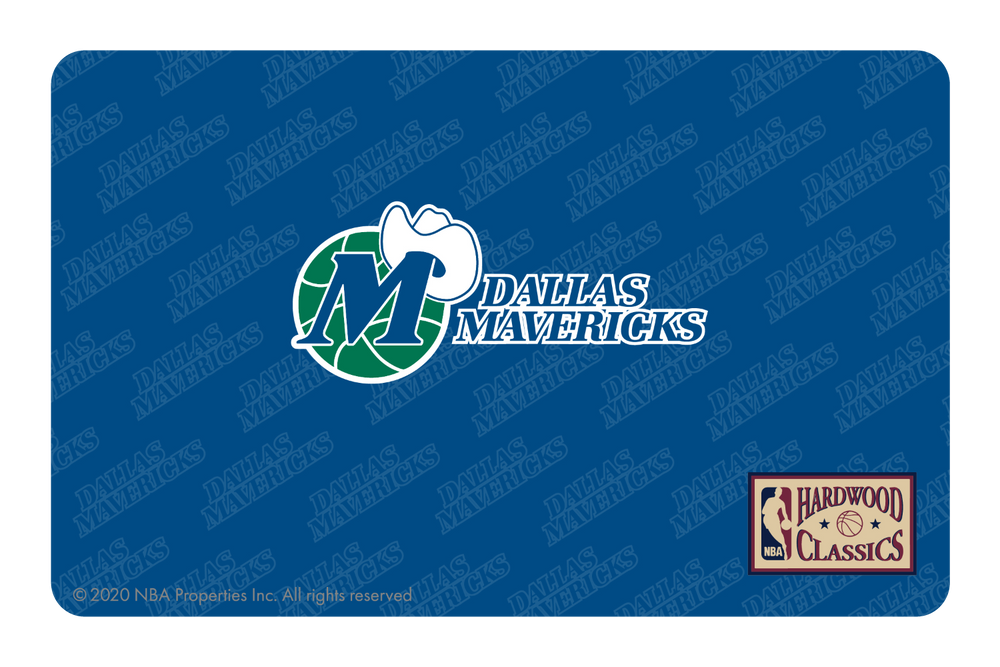 Dallas Mavericks: Throwback Hardwood Classics