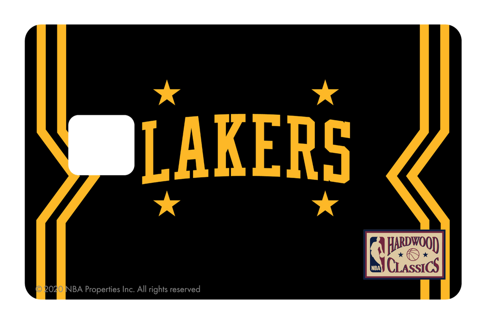 Los Angeles Lakers: Away Warmups Hardwood Classics