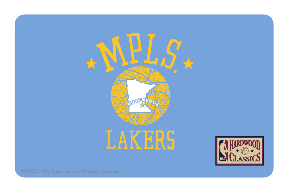 Los Angeles Lakers: Throwback Hardwood Classics