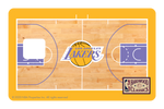 Los Angeles Lakers: Retro Courtside Hardwood Classics