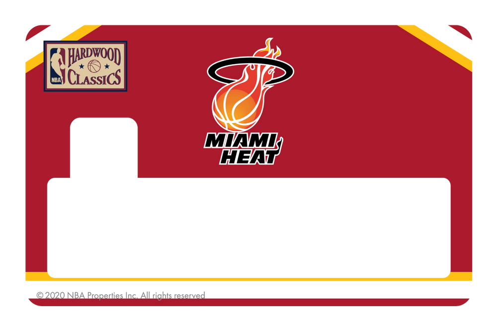 Miami Heat: Home Warmups Hardwood Classics