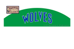 Minnesota Timberwolves: Away Warmups Hardwood Classics