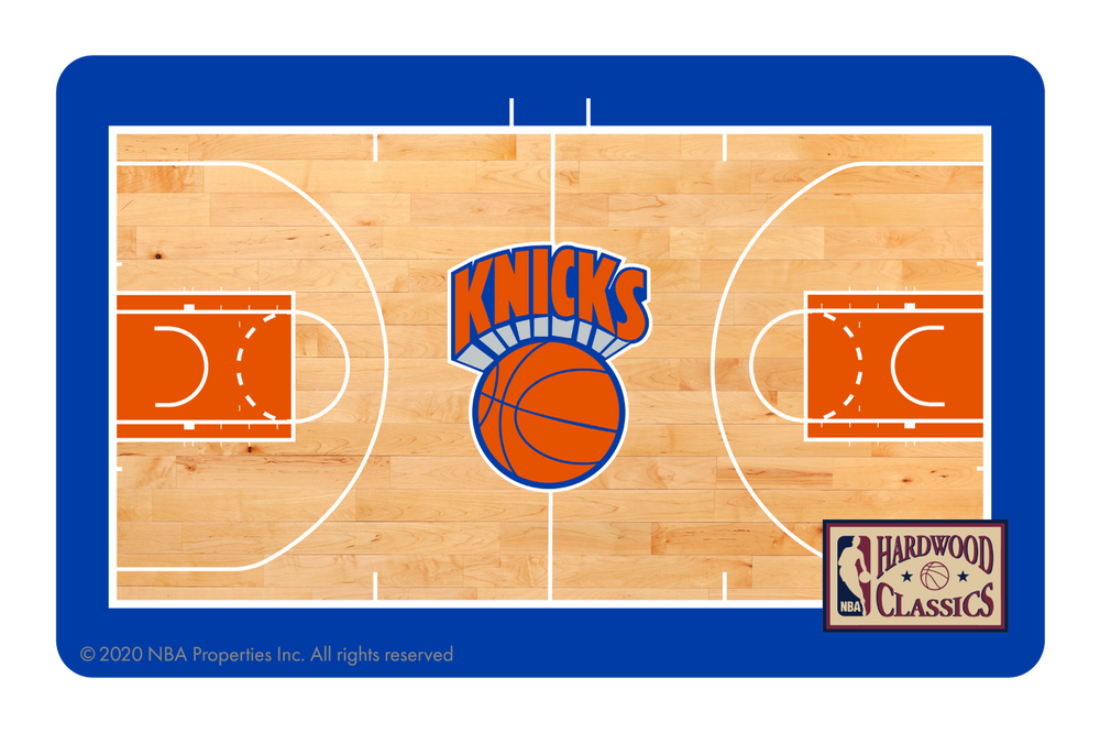 New York Knicks: Retro Courtside Hardwood Classics
