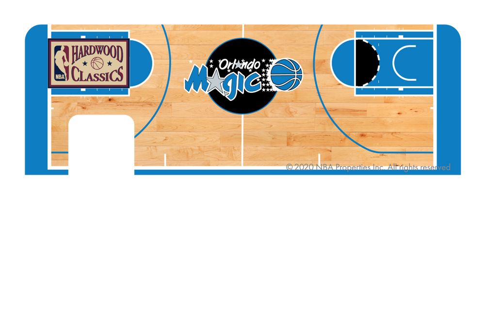 Orlando Magic: Retro Courtside Hardwood Classics