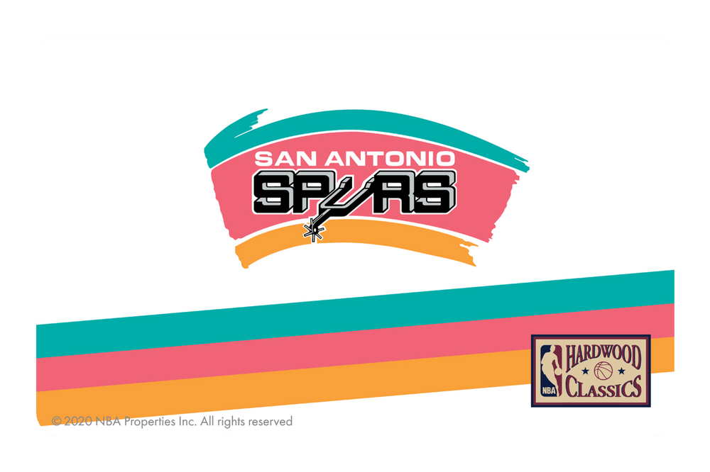 San Antonio Spurs: Home Warmups Hardwood Classics