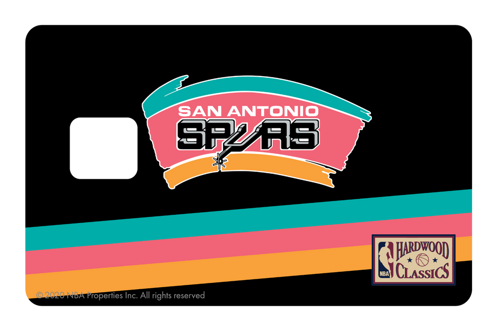 San Antonio Spurs: Away Warmups Hardwood Classics