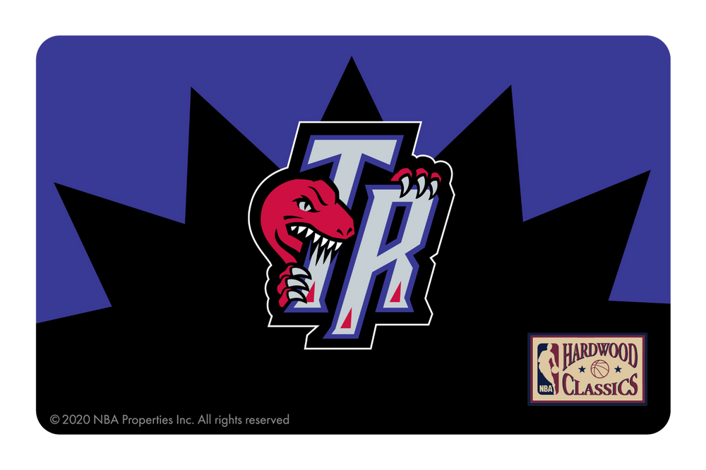 Toronto Raptors: Away Warmups Hardwood Classics