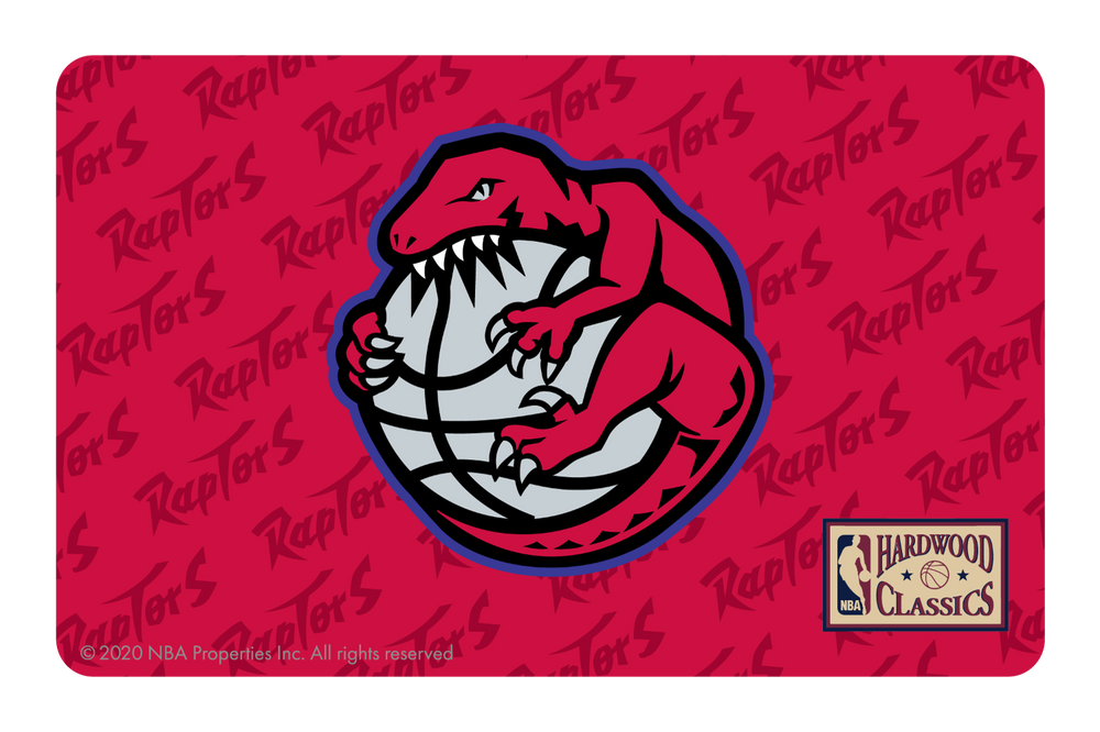 Toronto Raptors: Throwback Hardwood Classics