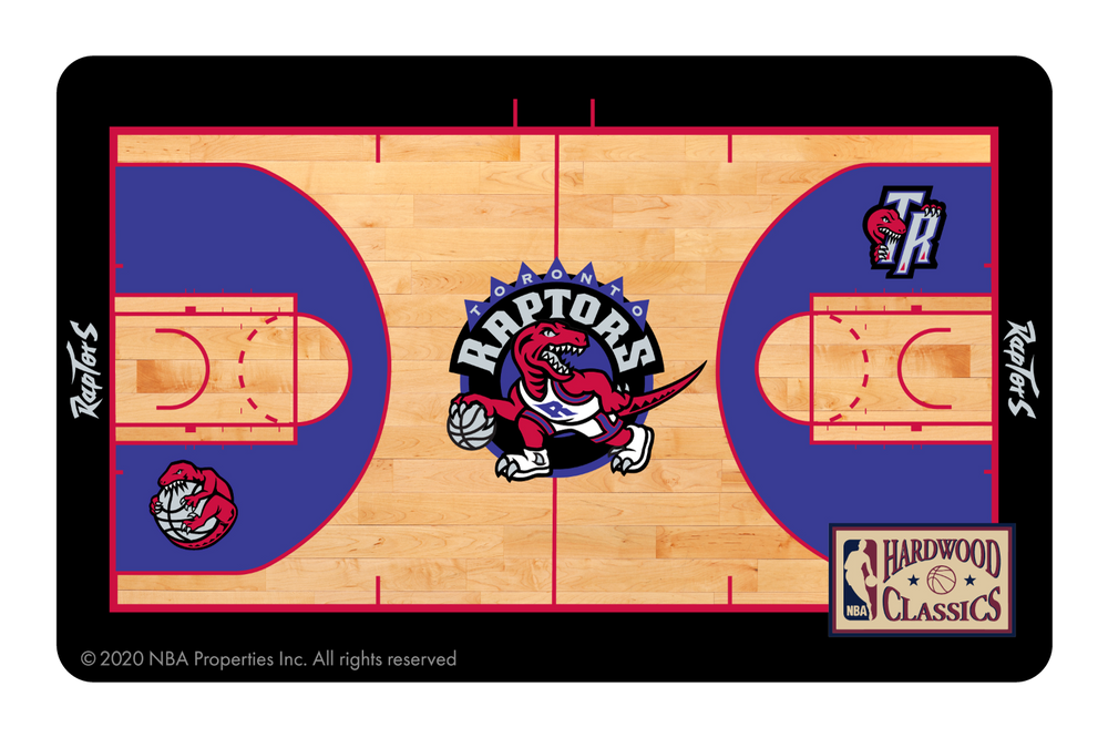 Toronto Raptors: Retro Courtside Hardwood Classics