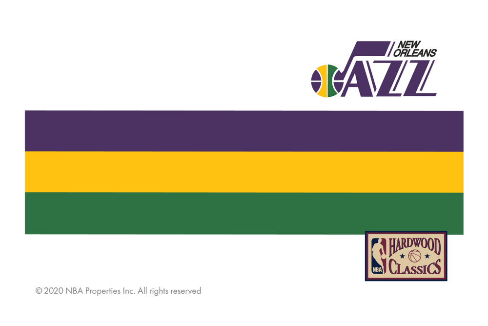 Utah Jazz: Throwback Hardwood Classics