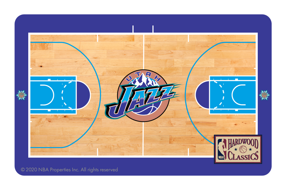 Utah Jazz: Retro Courtside Hardwood Classics