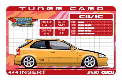 Tuner Card EK9 Civic (Y)