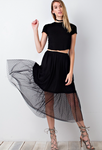 Layer Me Skirt BLACK
