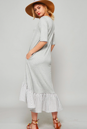 Play Date Dress HEATHER GREY