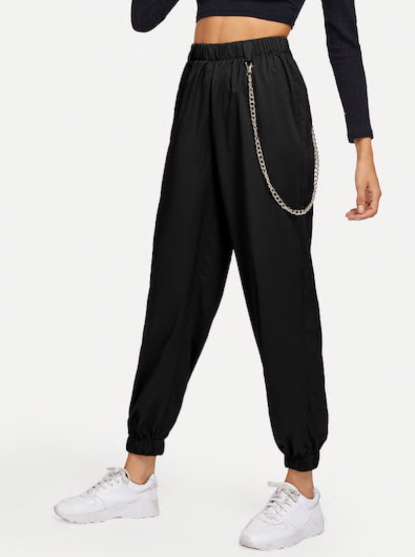 Chain Detail Jogger Pant