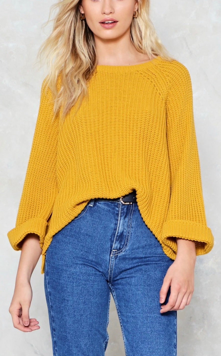 Knit Relaxed Sweater