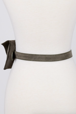Take Me Out Fanny Belt OLIVE